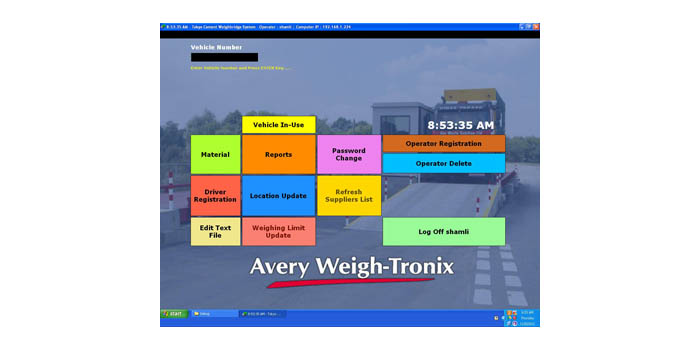 Weighbridge Software Application For Single Weighbridge