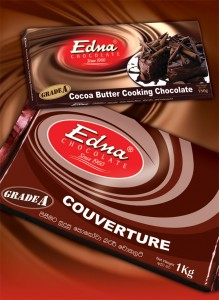 Edna Cooking and Industrial Chocolate (Grade A and B)
