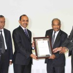 Ceylon Paper Sacks receiving training partner certificate from CA Sri Lanka